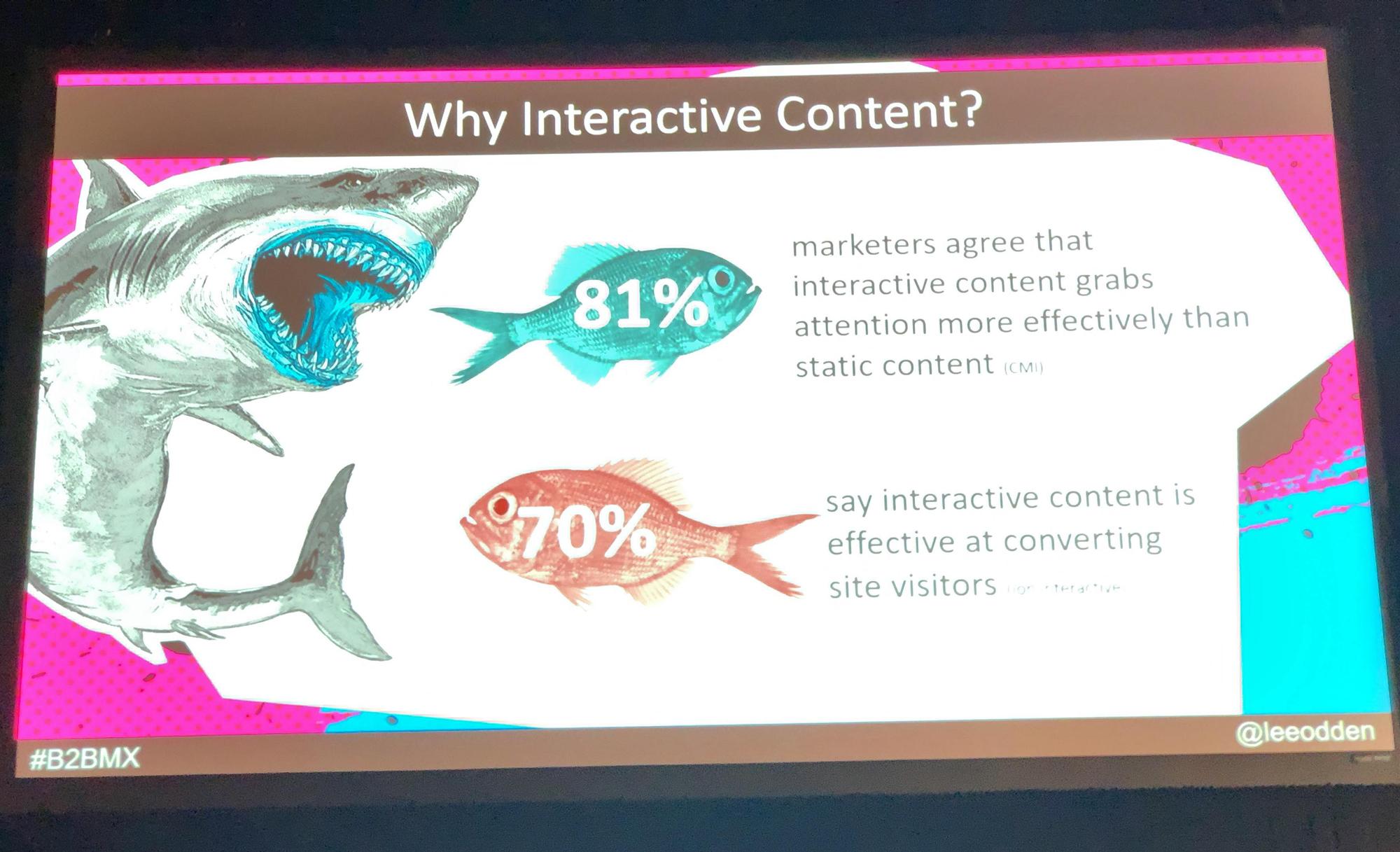 対話的なコンテンツ、双方向的なコンテンツ―― B2BMX2019より